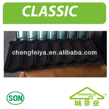 Natural Stone Chip Coated Metal Roof Tile
