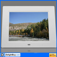 8 inch TFT LED DPF ( Picture+Music+Movie+Calendar+Clock+Memory+E-BOOK/option)