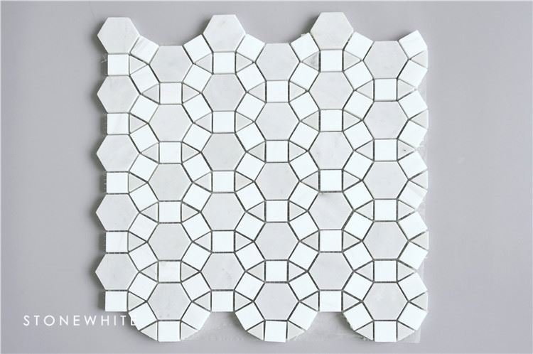 Natural hotel marble decoration piece