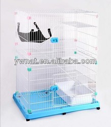 2014 Square Metal Double Pet cat Kennels/Pet Cat cage