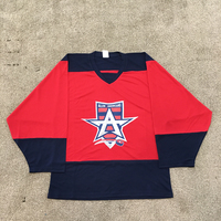 100% Polyester NHL Team Allen Americans Custom Hockey Jersey For Fans
