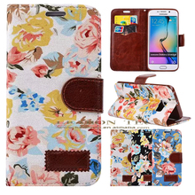 high quality wallet cover case for samsung galaxy s6 edge plus,case for samsung mobiles