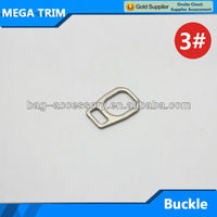 custom design metal buckle for bag silver metal buckle wholesale