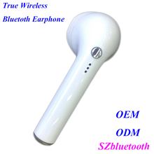 Latest single rotatable earbud V4.1 stereo wireless bluetooth headset for iphone & Android
