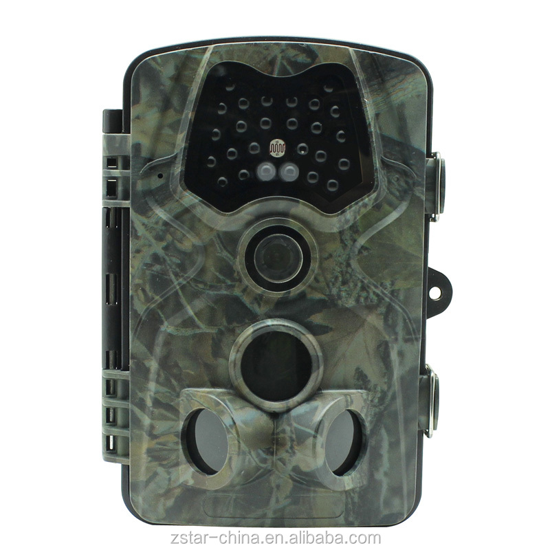 12mp IP66 waterproof wildlife hunting camera with 120degree wide PIR angle lens