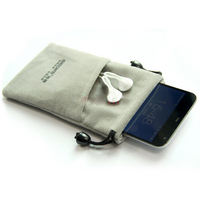 Velet Microfiber Mobile Phone Pouch