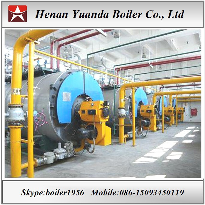 Gas/oil fired Heating boiler hot water boiler for greenhouse,buildings,factory,hospital,hotel
