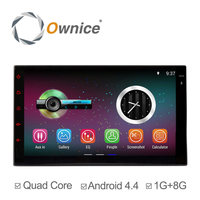 "7"" Quad core Android 4.4 up to android 5.1 double 2 din universal Car DVD stereo with Wifi"