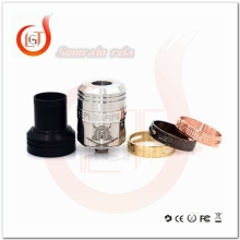 New generation vaporizer e-cigs clone samurai v2 rda, cool design samurai v2 rda, samurai v2 rda 1:1 clone wholesale mechanical