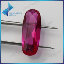 man-made oval light red ruby aaa quality class Natural Ruby Cut stones