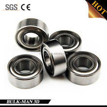 Metal Double Shielded Miniature Ball Bearing MR105ZZ Bearings for 3d Printer