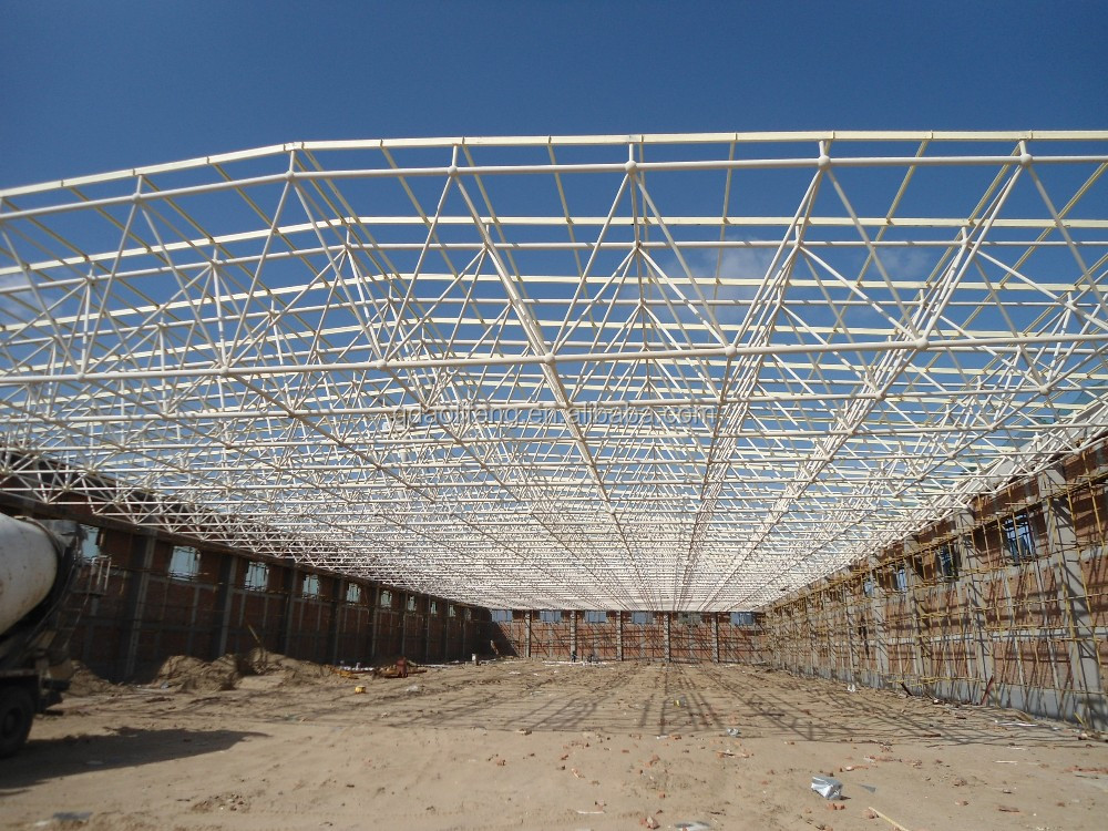 Steel Roof Truss Design Manufacturers With High Quality