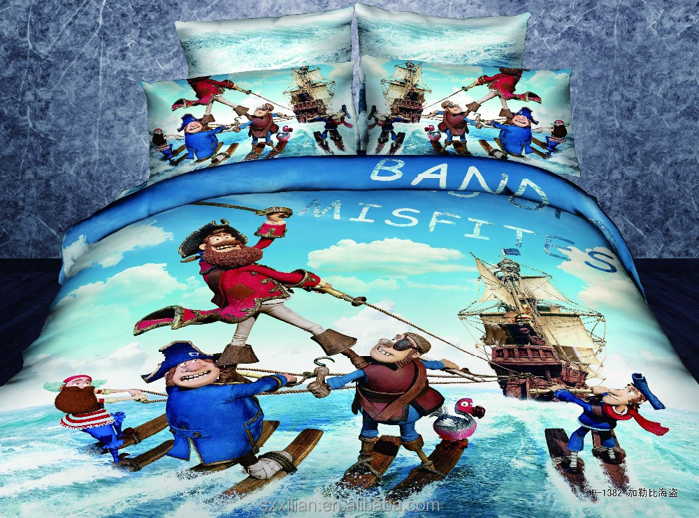high quality 100% cotton 3D kids cartoon bedding set/luxury/wholesale comforter