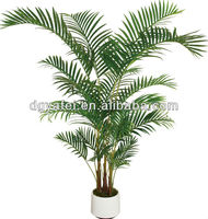 on sale artificial palm leaves, Hawaiian trees,