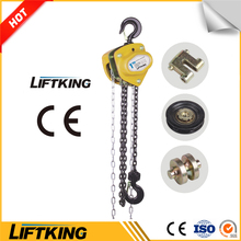 LIFTKING Vital chain pulley block 0.25t to 30t manual chain hoist