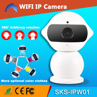 2016 New Product 960P Patent Robot WiFi Camera with remote control robot Wireless ip camera