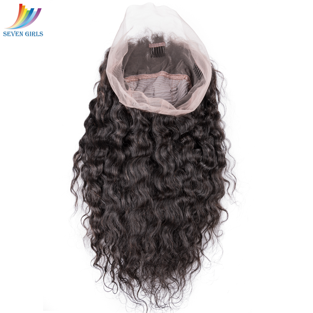 wholesale natural color cheap peruvian cully human 360 lace front wigs