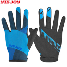 Professional quick dry cycling full finger mtn padded bike cycling gloves