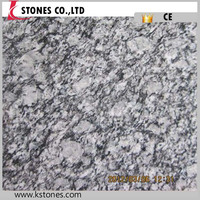 Chinese factory best price spray white granite slabs and floor tiles for sale