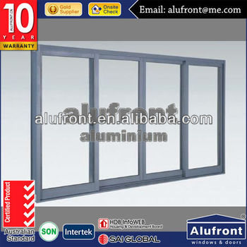 commercial with WERS fiberglass screen thermal break aluminum window