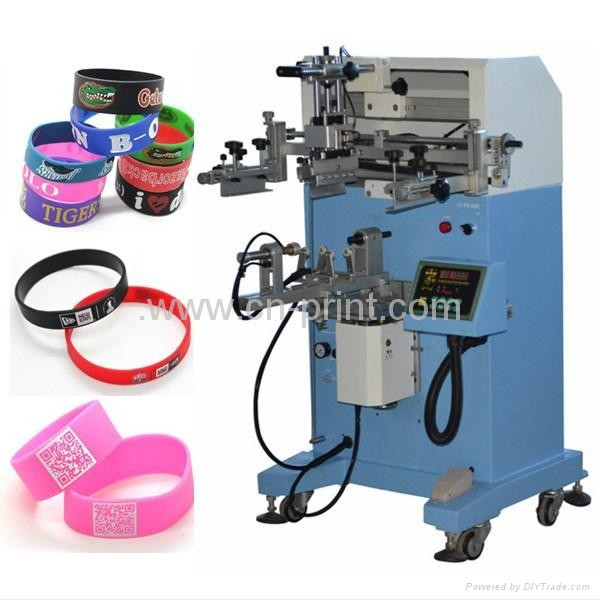 silicone bracelet screen printing machine,glove silicone printing machine,wristband printer