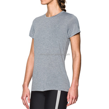 Women'S Close Fit Quick Dry Breathable Workout Sports Running T Shirt