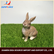 Hot Selling New Design Resin Animal Craft Hare Rabbit