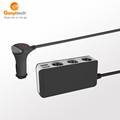 3 Socket Cigarette Lighter Adapter with 2-port USB Charger