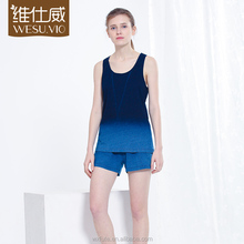 Sleepwear Women Short Dropshipping Pajamas Night Suit For Ladies