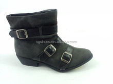 New style fashion ladies women winter flat boots shoes