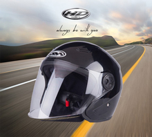 2017 abs large anti scratch visor comfortable open face motorcycle helmet