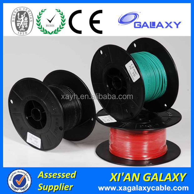 China Factory Solid type Single Core LSZH material Insulation Aluminum Electric Cable Wire 300/500V 16mm 25mm 70mm 95mm 10mm