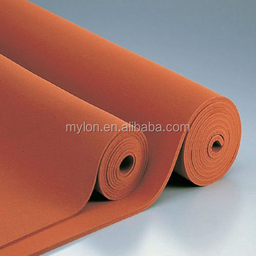 Textured Soft Silicone Foam Rubber Sheet Color