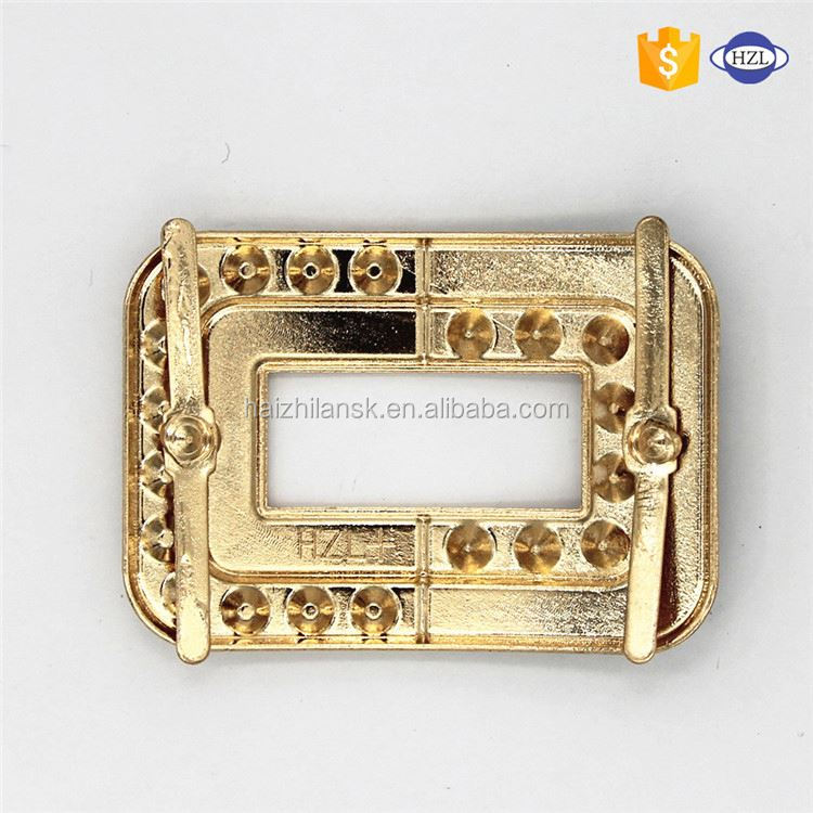 Modern style superior quality rhinestone bag buckle for wedding invitation wholesale