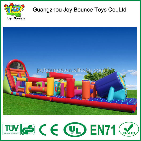 large large inflatable obstacle,funny hot sale inflatable sports obstacle