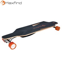 Global Wholesaler Wanted Maxfind manufacturer Sport Cheap electric skateboard with wireless remote controller and dual motors
