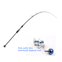 "OEM 6'3"" 100g nano carbon slow jigging rod fishing rods"