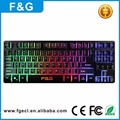 Custom LED Backlit Keyboard Russian LED Gaming Keyboard for Computers