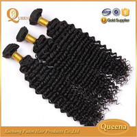 Return policy 100 % virgin indian deep wave human hair skin weft