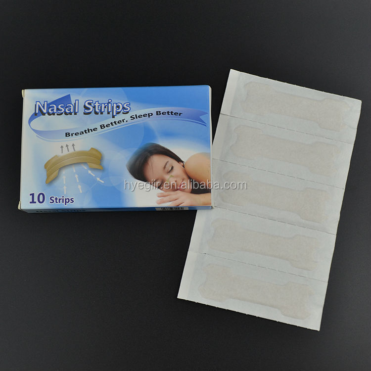 FDA CE Approved Large Size Nasal Strip Expanding Nasal Passage and Helping Breathing