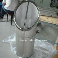 Perforated Screen Filter with sintered wire mesh