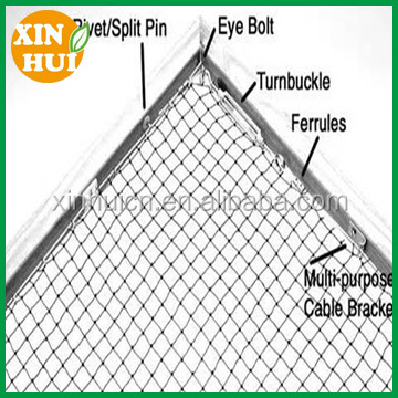 stainless steel farm land and garden anti bird netting