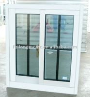 White Color Aluminum Sliding Window with Grill Design AS2047 in Australia & NZ