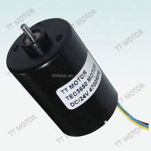 24v 36mm dc brushless motor for fan