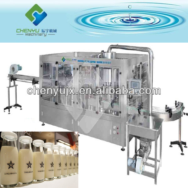 Bottle Liquid Coffee Filling Line, Labeling Machine, Packing Machine