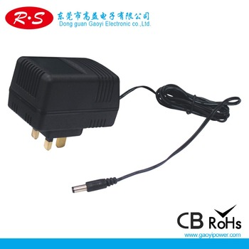 Wall mount AC to DC 40w power adapter with CE GS UL SAA PSE KC(UK plug)