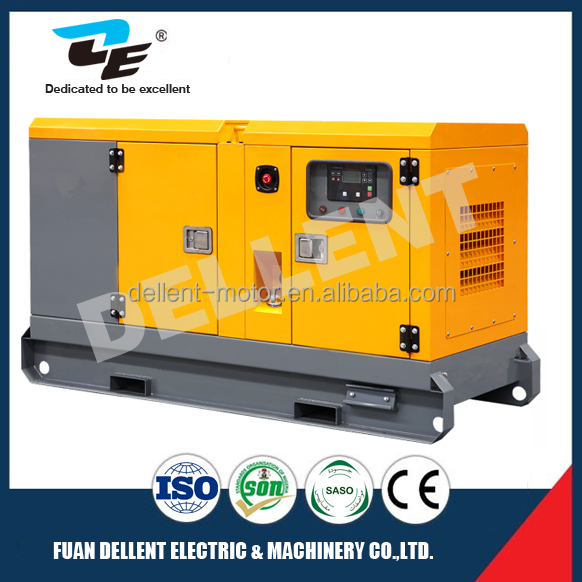 Canopy genset 60dBA 15kva with Kubota engine diesel genset with stamford alternator