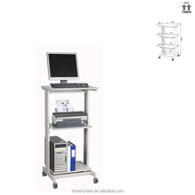 Ergonomic and Reliable metal frame computer table office workstation with CE&ISO