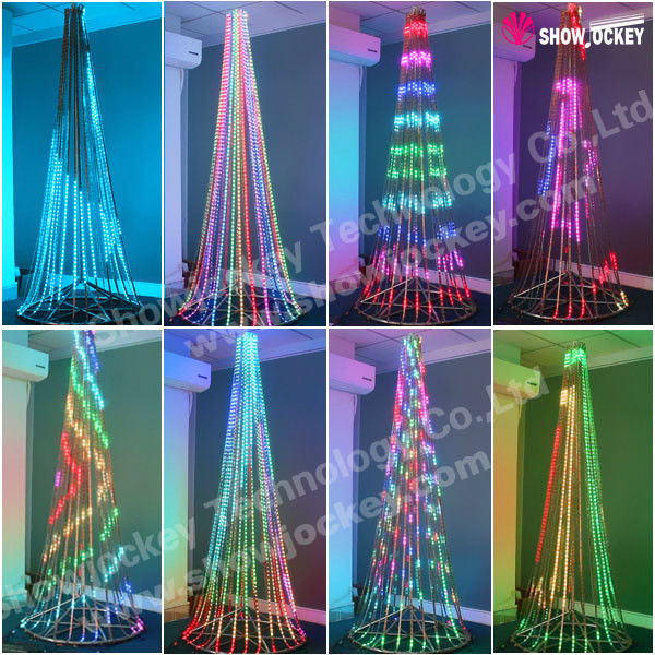 Programmable Color Changing Led Christmas Lights