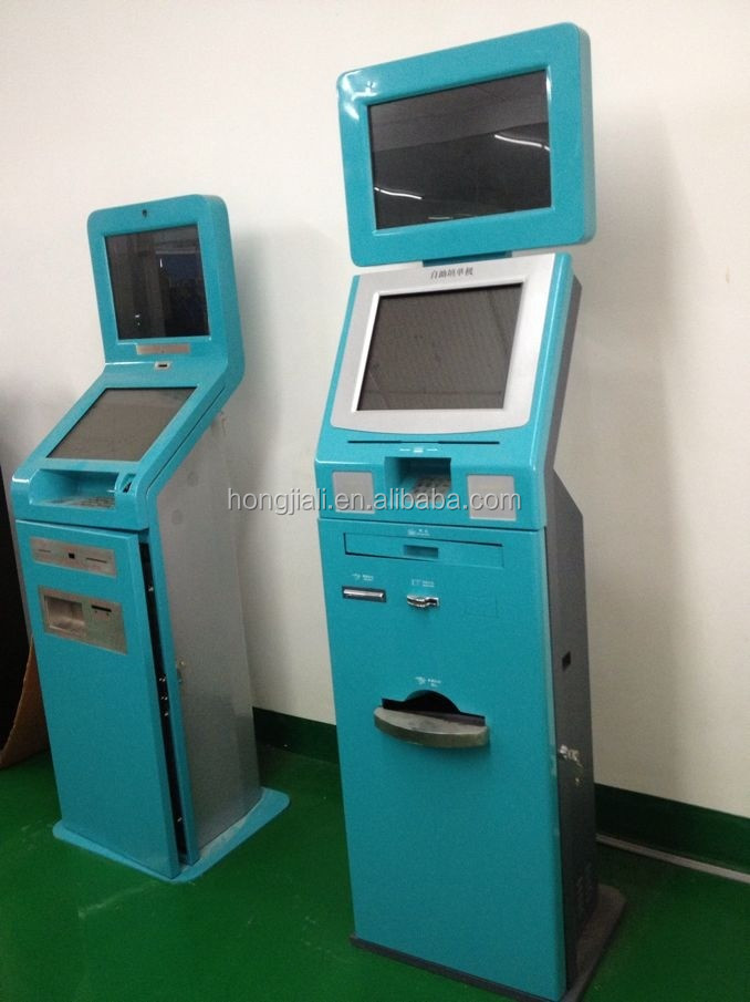 Touch Screen Payment Kiosk /Dual Touch Screen Kiosk /Kiosk Advertising Display